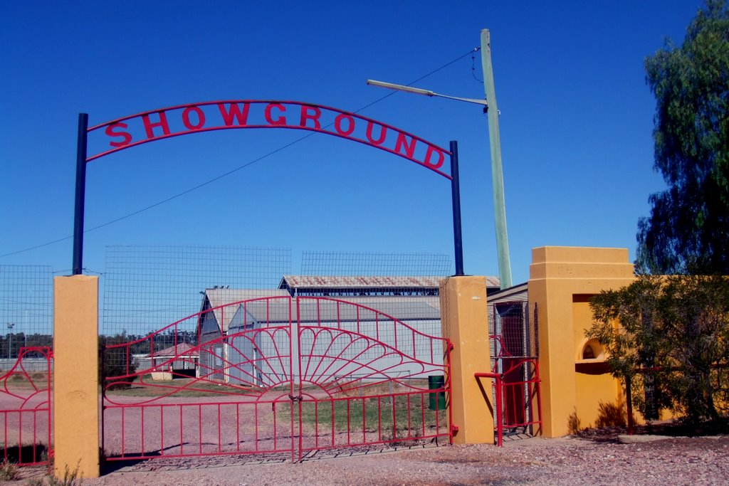 Showground Gates - Leeton, NSW