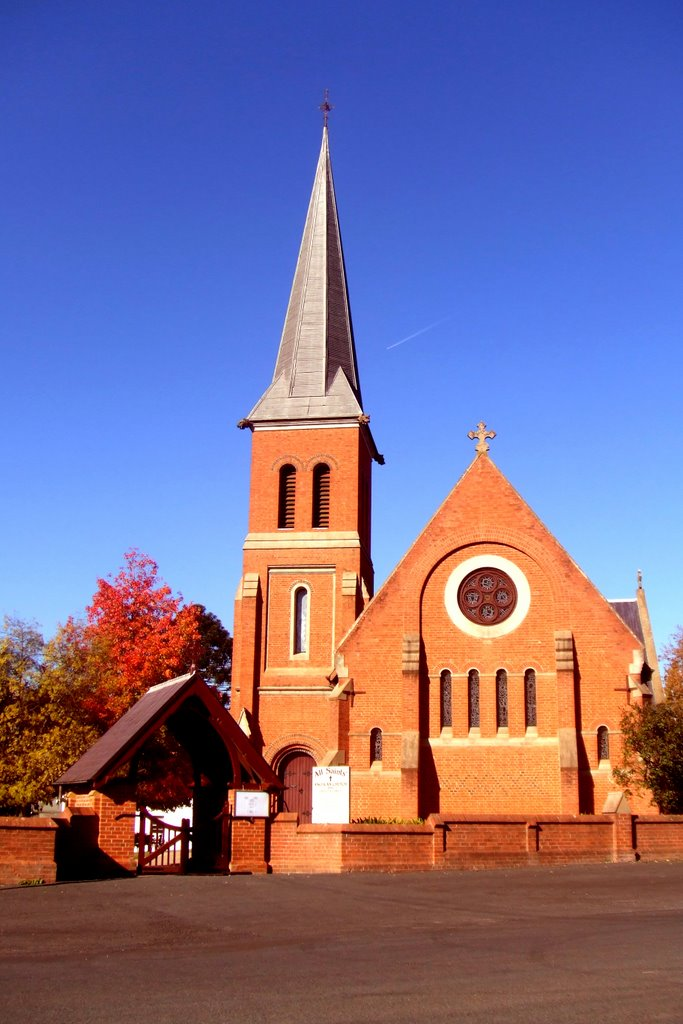 All Saints Anglican Church - Tumut, NSW