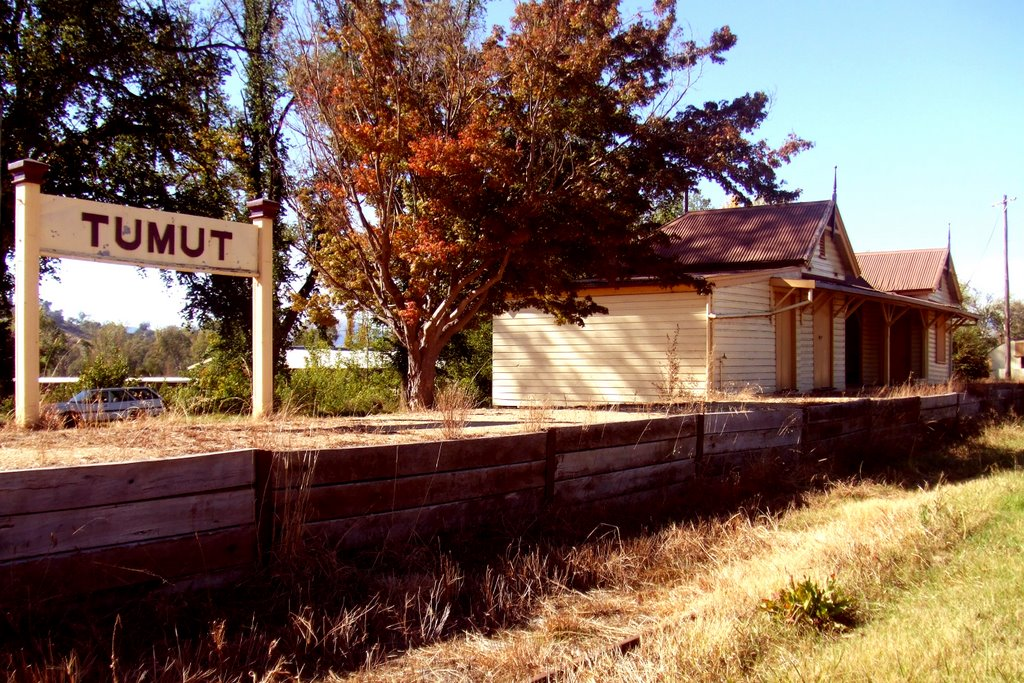 Railway Station - Tumut, NSW
