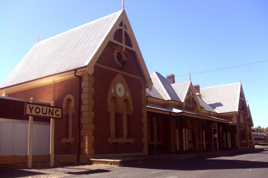 Railway Station - Young, NSW