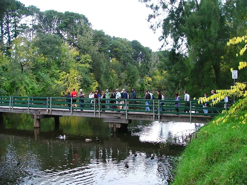 footbridge over the Nepean River at Camden