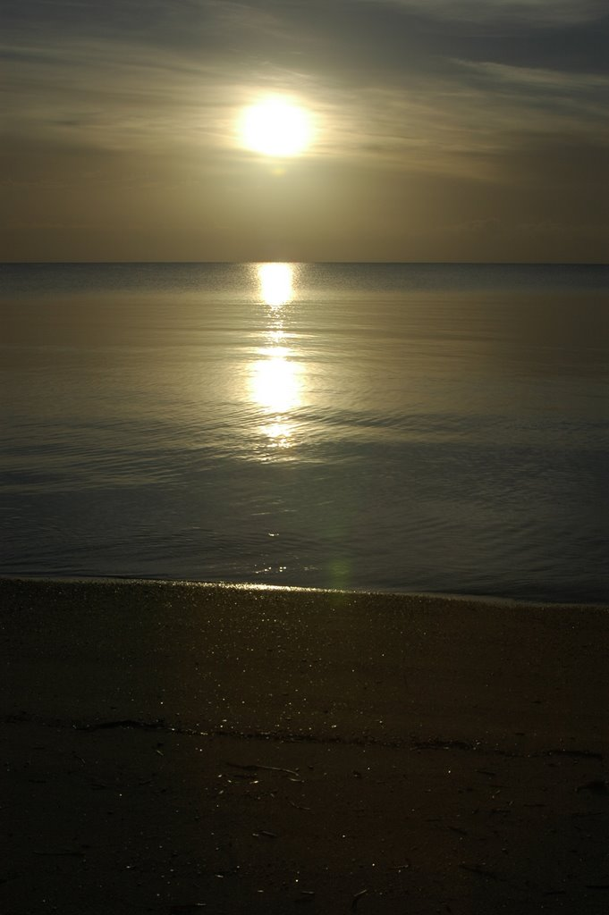 Sunrise at Tumby Bay 26 April 2008